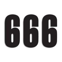 Štartovné čísla Blackbird 6