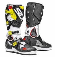Čižmy SIDI Crossfire 2 SRS Black/White/Yellow