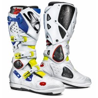 Čižmy SIDI Crossfire 2 SRS White/Yellow