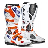 Čižmy SIDI Crossfire 2 Orange/White/Blue