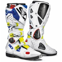 Čižmy SIDI Crossfire 2 White/Yellow