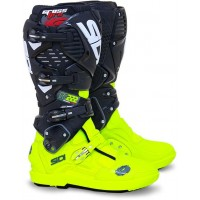 Čižmy SIDI Crossfire 3 SRS TC222 Yellow Fluo/Black