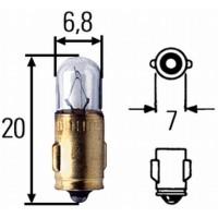 Žiarovka 6V 1.2W - Babetta tachometer