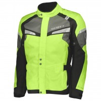 Bunda SCOTT Storm DP Neon Yellow/Black