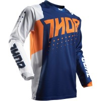 Dres Thor Pulse Aktiv Orange/Navy - detský
