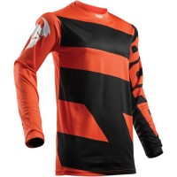 Dres Thor Pulse Level Black/Dark orange - detský