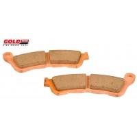 Brzdové platničky GOLDFREN 257 Honda 125-1300/Suzuki
