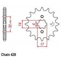 Vývodové koliečko Pitbike 273-13