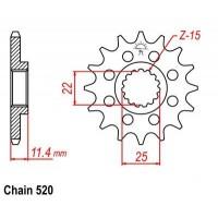 Vývodové koliečko KTM LC4 600 (88-93) LC4 620 (90-02) LC4 640 (99-06)
