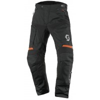 Nohavice SCOTT Dualraid DP Black/Orange