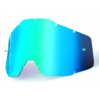 Sklo 100% Mirror Blue Lens
