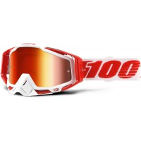 Okuliare 100% Racecraft Bilal - Mirror Red Lens