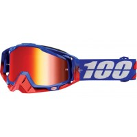 Okuliare 100% Racecraft Republic - Mirror Red Lens