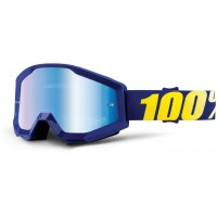 Okuliare 100% Strata Hope - Mirror Blue Lens