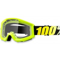 Okuliare 100% Strata Junior Fluo Yellow