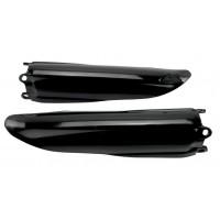 Kryty predných tlmičov Honda CRF 250/450 (02-18) CR (91-07) Čierne