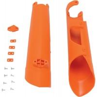 Kryty predných tlmičov KTM SX/SXF (07-14) EXC/EXCF (08-15) Oranžové
