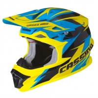 Prilba Cassida Cross Pro Blue/Yellow