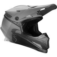 Prilba Thor Sector Racer Matt Black/Charcoal
