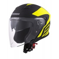 Prilba Cassida Jet Tech Corso Matt Black/Yellow