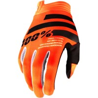 Rukavice 100% iTrack Fluo Orange