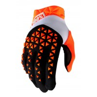 Rukavice 100% Airmatic Fluo Orange/Black