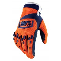 Rukavice 100% Airmatic Youth Orange/Navy