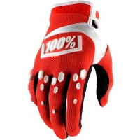 Rukavice 100% Airmatic Red/White