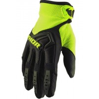 Rukavice Thor Spectrum Black/Fluo Acid