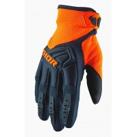 Rukavice Thor Spectrum Black/Fluo Orange