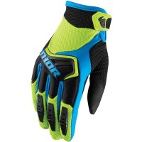 Rukavice Thor Spectrum Green/Blue