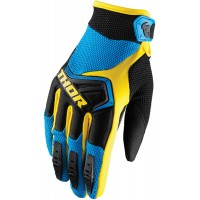 Rukavice Thor Spectrum Blue/Yellow