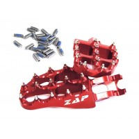 Stupačky ZAP TechniX Honda CR/CRF (02-17) - červené