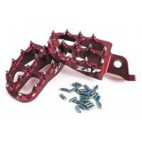 Stupačky ZAP TechniX Suzuki RMZ 250 (10+) 450 (08+) červené